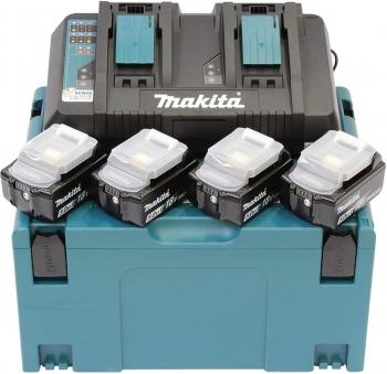 Makita 197626-8 18V Li-Ion accu starterset met duolader in Mbox