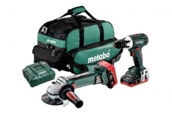 Metabo combo set 18v lihd accu machines in de set 9110900s