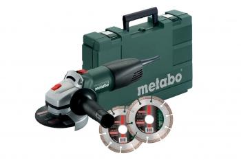 Metabo wq 1000 set haakse slijper met koffer 2003551s