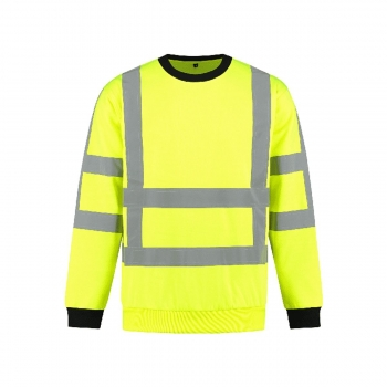 Sweater high visibility RWS