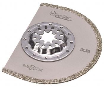 Qblades SL31 Diamant Segmentzaagblad 90mm 2