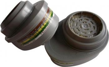 Filter met bajonetaansluiting Te gebruiken met de MSA Advantage 200 LS en MSA Advantage 3200 maskers