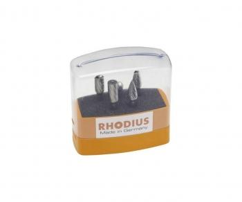 Rhodius hardmetaalfreesset met 5 frezen