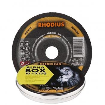 Rhodius XT70 125mm 10 stuks in blik