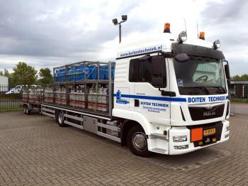 Boiten Techniek heeft een nieuwe M.A.N vrachtwagen in dienst.