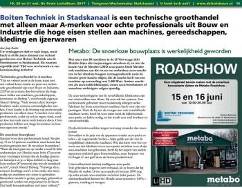 Boiten Techniek in Stadskanaal de technische groothandel met alleen maar A-merken