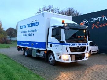 Nieuwe M.A.N. Vrachtwagen voor Boiten Techniek